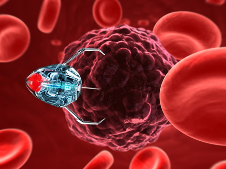 nano robotics in medicine Nanorobotics is an emerging field of nanotechnology which deals with design and construction of devices at an atomic, molecular or cellular level these hypothetical nanorobots will be extremely small and would transverse inside the human blood as these nanorobots would have special sensors to.